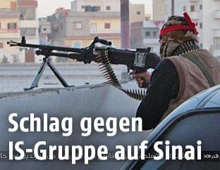 IS-Kämpfer auf der Halbinsel Sinai