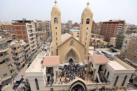 Koptische Kirche im ägyptischen Tanta