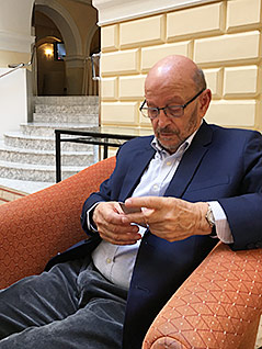 Israelischer Politologe Itzhak Galnoor