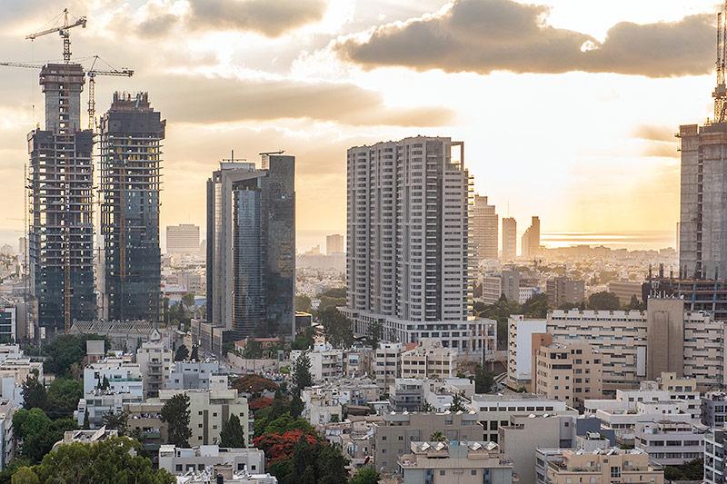 Stadtansicht von Tel Aviv