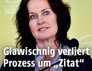 Grünen-Klubchefin Eva Glawischnig