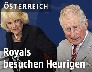 Prinz Charles und seine Ehefrau Herzogin Camilla