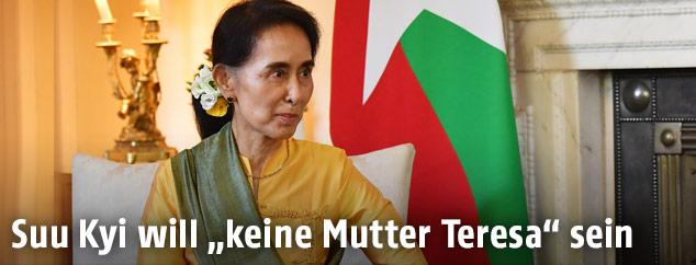 Friedensnobelpreisträgerin Aung San Suu Kyi