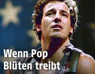 """Archivbild von Bruce Springsteen während seiner """"Born in the USA""""-Tour im Jahr 1985"""