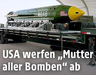 GBU-43/B Massive Ordnance Air Blast bomb (MOAB)