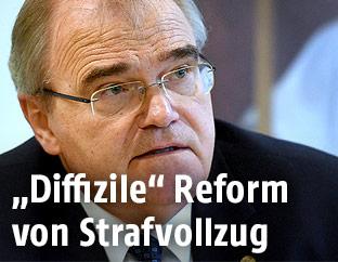 Justitzminister Wolfgang Brandstetter (ÖVP)