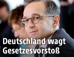 Der deutsche Justizminister Heiko Maas