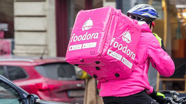 Foodora-Fahhradbote