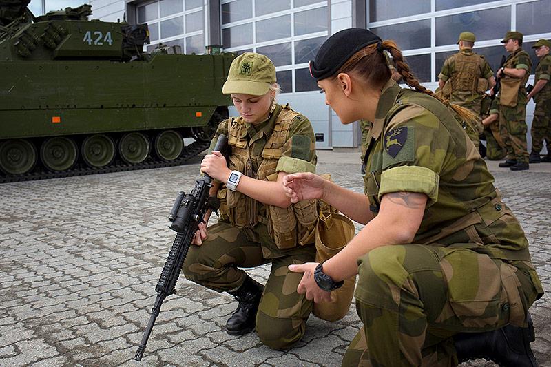 Uniform der Militärfrauen