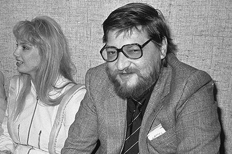 Porträt von Rainer Werner Fassbinder aus dem Jahr 1981