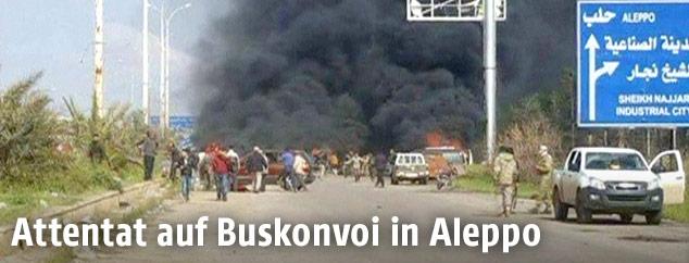 Anschlag auf Buskonvoi