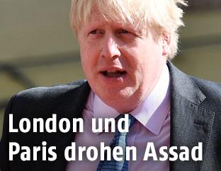 Der Außenminister von Großbritannien, Boris Johnson
