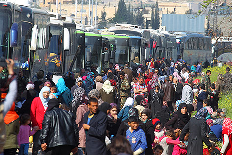 Zahl der Toten bei Anschlag auf Busse in Syrien steigt auf 112