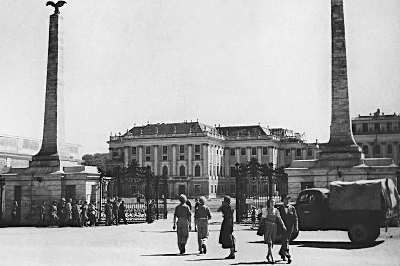 Britische Truppen in Wien