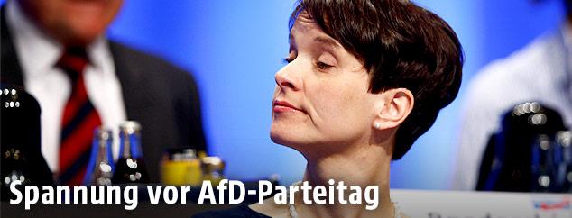 AfD-Vorsitzende Frauke Petry