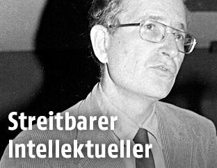 Archivbild von Noam Chomsky von 1979