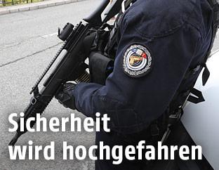 Franzöischer Polizist