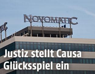 Gebäude der Firma Novomatic