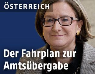 Die niederösterreichische  Landeshauptfrau Johanna Mikl-Leitner