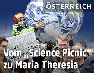 """""""Vienna March for Science"""" in Wien"""
