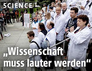 Wissenschafter protestieren in Washington