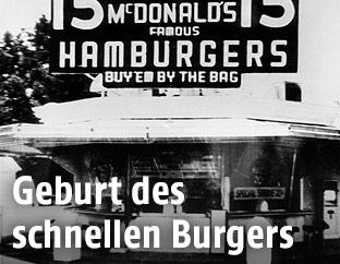 Erstes McDonald's Restaurant