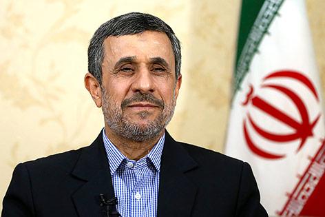 Früherer iranischer Präsident Mahmud Ahmadinedschad