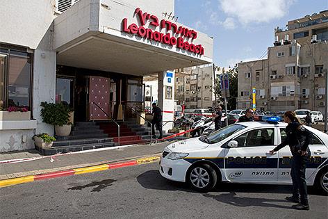 Polizistin in Tel Aviv