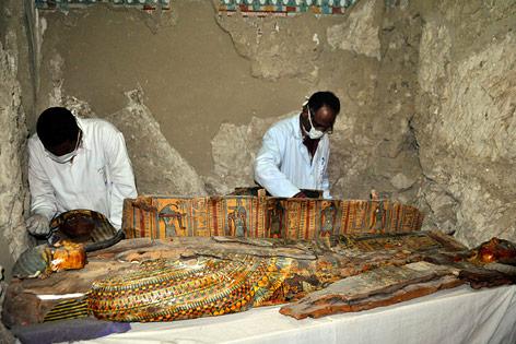 Ausgrabungen nahe Luxor