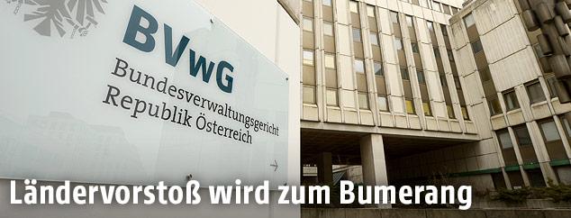Das Bundesverwaltungsgericht in Wien