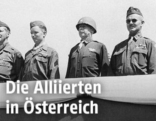 US-Generäle in Österreich