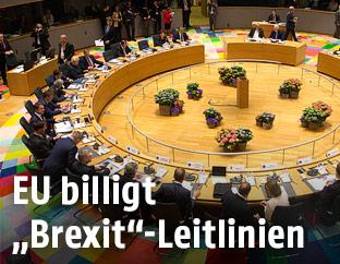 Sitzungssaal in Brüssel