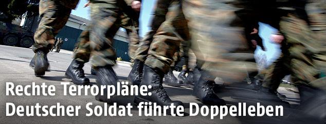Soldaten der deutschen Bundeswehr
