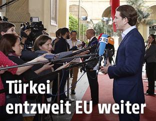 Außenminister Sebastian Kurz