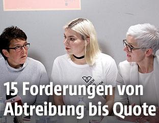 """Pressekonferenz """"20 Jahre Frauenvolksbegehren - Jetzt erst recht"""""""