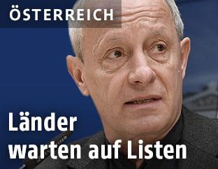 Der Sicherheitssprecher der Grünen, Peter Pilz