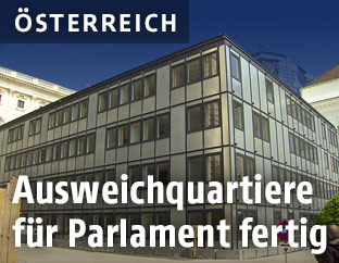 Ausweichquartiere des Parlaments