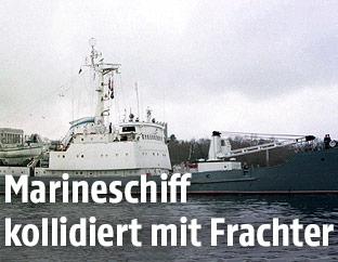 """Russisches Kriegsschiff """"Liman"""""""