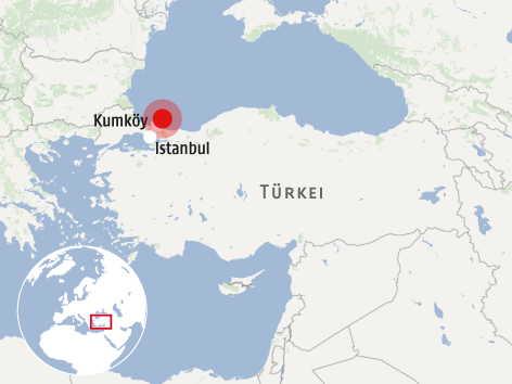 Russisches Marineschiff nach Kollision vor der Türkei gesunken