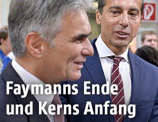 Werner Faymann und Christian Kern