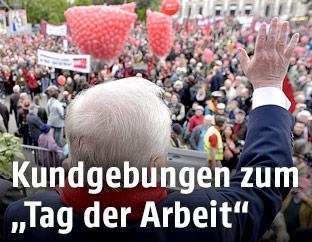 Kundgebung der SPÖ am 1. Mai 2016