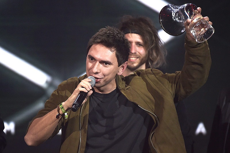 Julian Le Play bei den Amadeus Music Awards