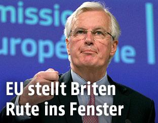 "EU-""Brexit""-Chefverhandler Michel Barnier"