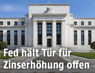 Das Gebäude der Fed in Washington