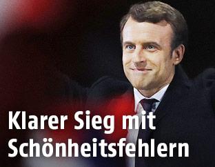 Frankreichs neuer Präsident Emmanuel Macron