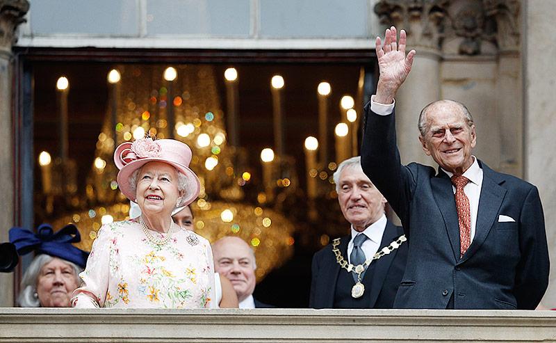 Blitztermin im Buckingham-Palast