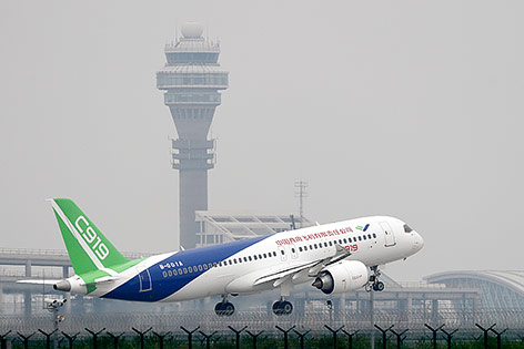 China China startet zum Angriff auf Boeing und Airbus