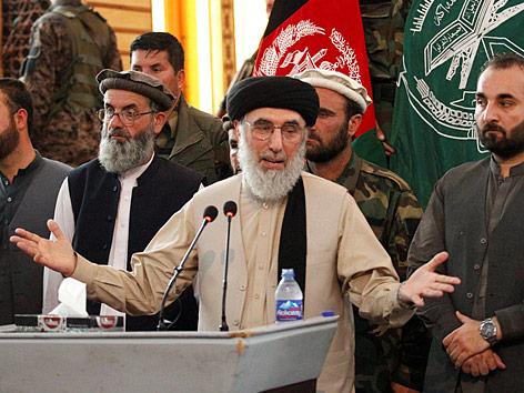Früherer Kriegsherr Hekmatyar wieder in Kabul