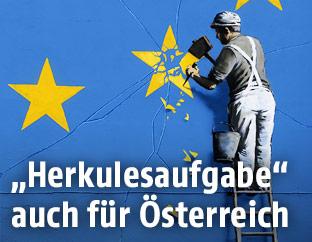 Brexit-Kunstwerk von Banksy