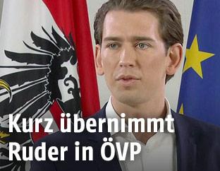 Designierter ÖVP-Chef Sebastian Kurz